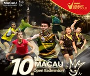 The 10th 2015 Macau Open Badminton, the part of BWF Grand Prix Gold Series