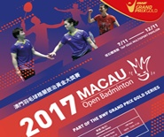 2017 Macau Open Badminton Part Of The BWF Grand Prix Gold Series