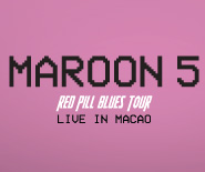 MAROON 5 RED PILL BLUES TOUR LIVE IN MACAO - $1488