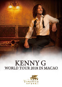 KENNY G WORLD TOUR 2018 IN MACAO