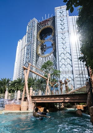 COME ENJOY THE ONLY WATER PARK IN MACAU
